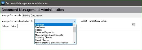 Using the Admin view to add or edit documents from the entire system.